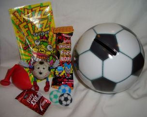 Soccer Ball Tin Money Bank