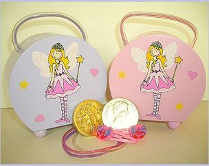 Fairy/Princess Wooden Handbag Money Box