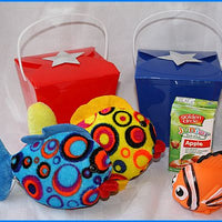 Infant Plush Fish Box