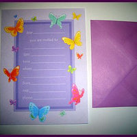 Butterflies in the Garden Invitations