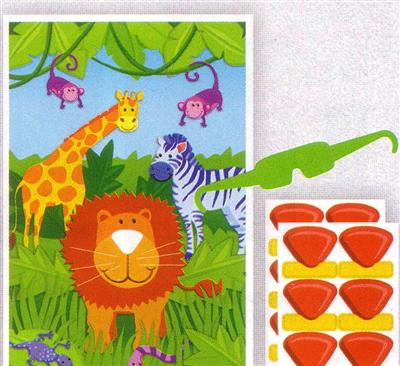 Jungle Friends Party Game