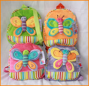 Butterfly Plush Back Pack