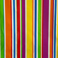 Rainbow Stripes Party Treat Bags 12pk