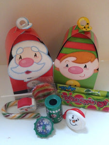 Christmas Santa & Elf Lolly Box