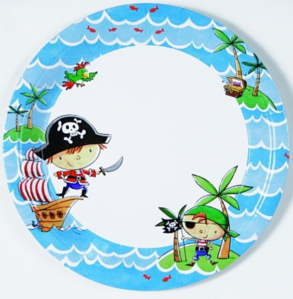 Pirate Buccaneer Paper Plates
