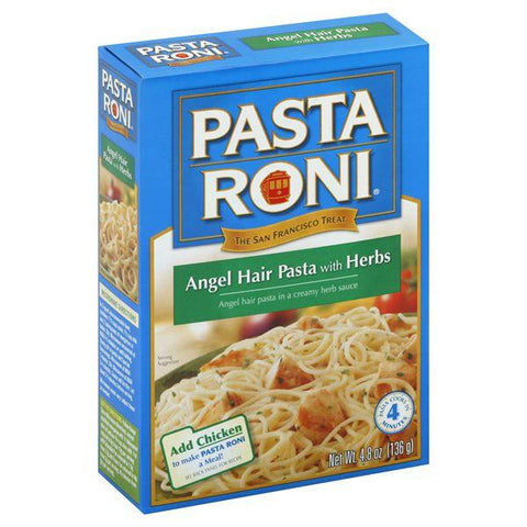 Pasta Roni Angel Hair Pasta, with Herbs