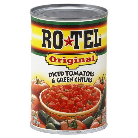 Rotel Diced Tomatoes & Green Chilies, Original