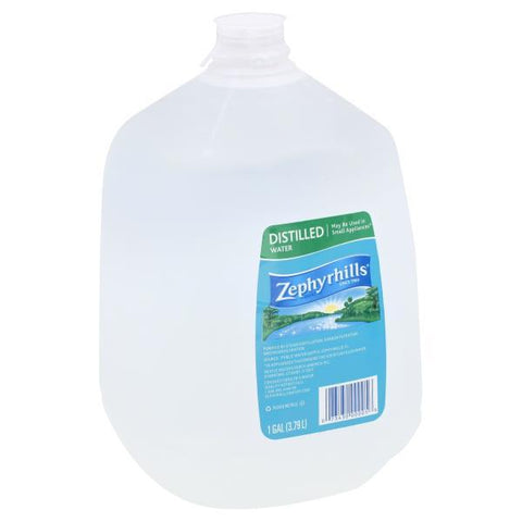 Zephyrhills Water, Distilled Gallon