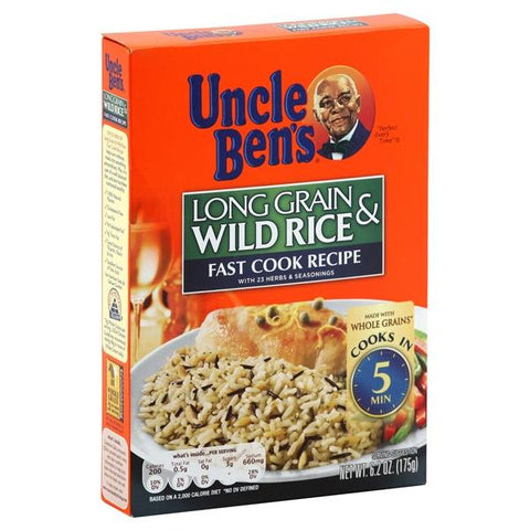 Uncle Bens Long Grain & Wild Rice, Fast Cook Recipe