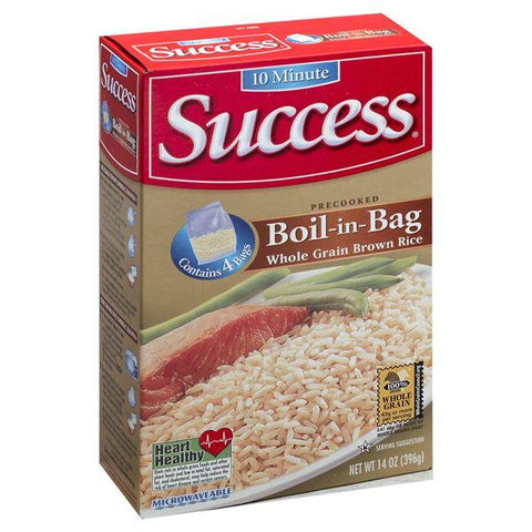 Success Boil-in-Bag Brown Rice, Whole Grain, Precooked