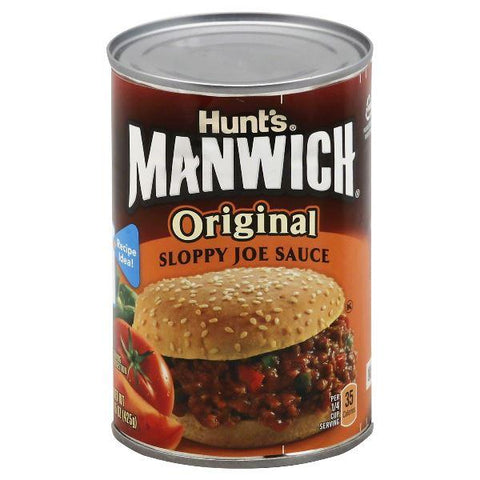 Hunts Manwich Sloppy Joe Sauce, Original