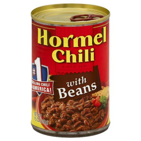 Hormel Chili, with Beans