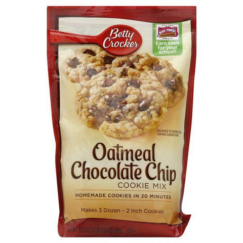 Betty Crocker Cookie Mix, Oatmeal Chocolate Chip