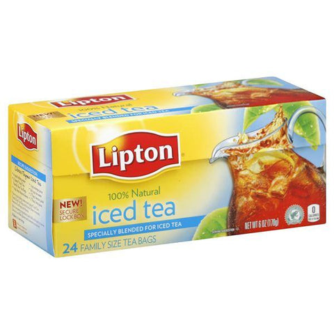 Lipton Iced Tea, Family Size Bags