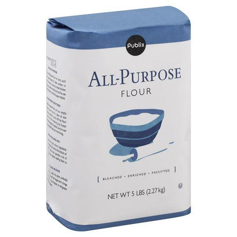 Publix Flour, All-Purpose, 5 lb