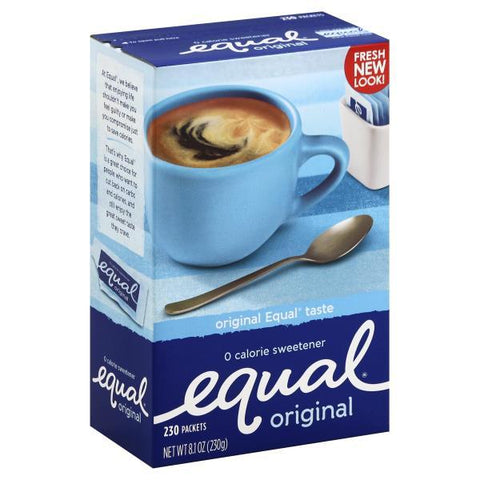 Equal Sweetener, 0 Calorie, Original, 230ct