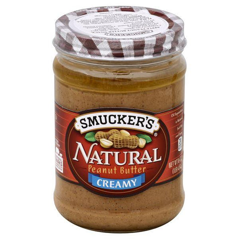 Smuckers Natural Peanut Butter, Creamy