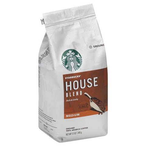 Starbucks Coffee, 100% Arabica, Ground, Medium, House Blend
