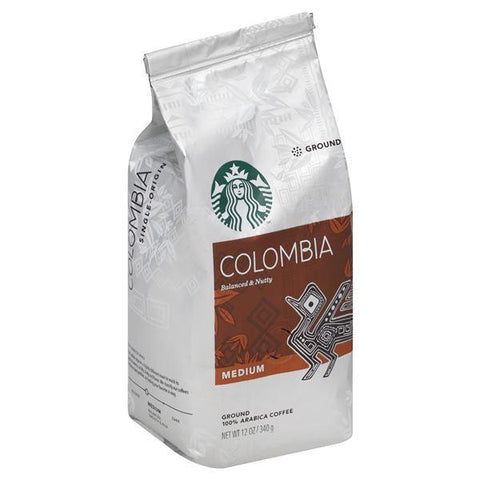 Starbucks Coffee, 100% Arabica, Ground, Medium, Colombia