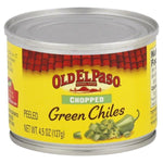 Old El Paso Green Chiles, Chopped