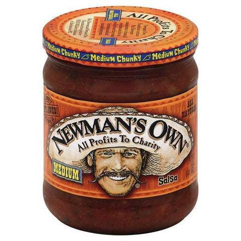 Newmans Own Salsa, Medium Chunky