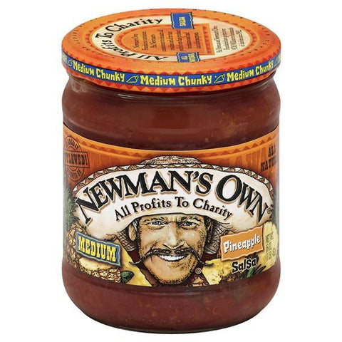Newmans Own Salsa, Medium Chunky, Pineapple