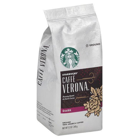 Starbucks Coffee, 100% Arabica, Ground, Dark, Caffe Verona