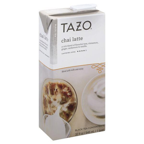 Tazo Black Tea Concentrate, Chai Latte