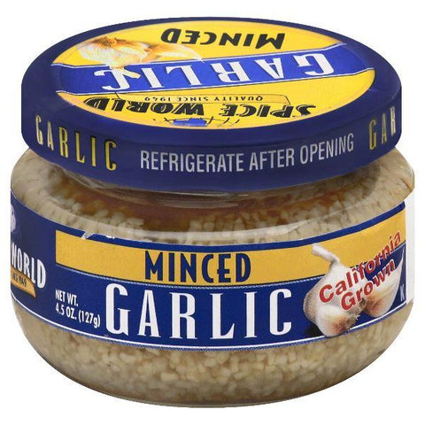 Spice World Garlic, Minced, Small