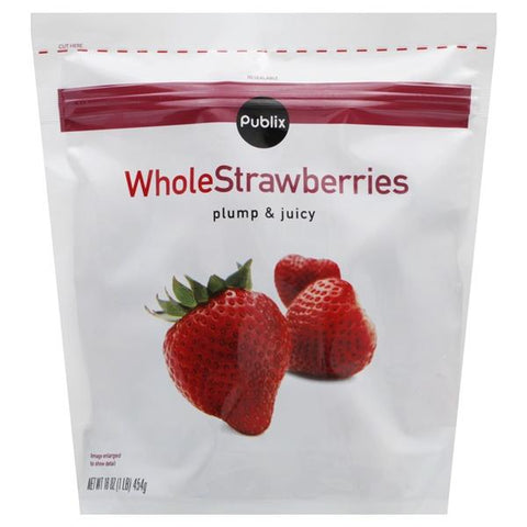 Publix Strawberries, Whole