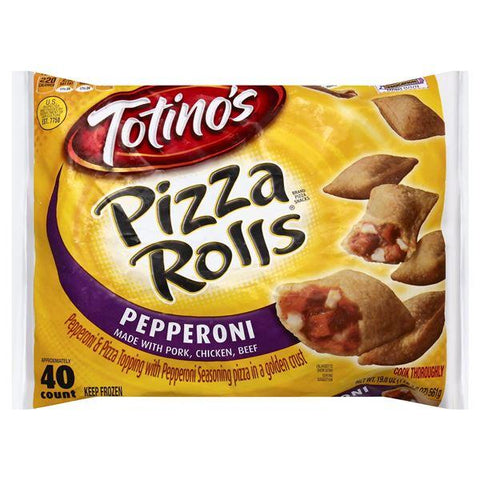 Totinos Pizza Rolls Pizza Snacks, Pepperoni