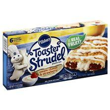 Pillsbury Toaster Strudel Toaster Pastries, Cream Cheese & Strawberry