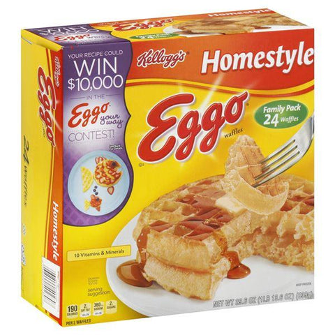 Eggo Waffles, Homestyle, Family Pack