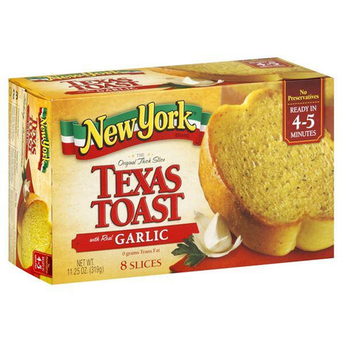 New York Brand Texas Toast, with Real Garlic