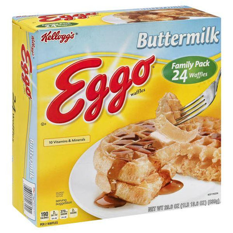 Eggo Waffles, Buttermilk, Family Pack