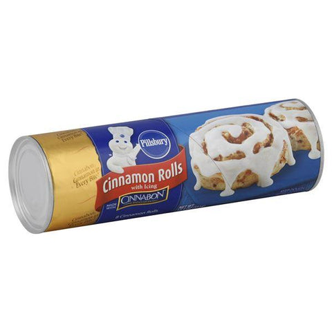 Pillsbury Cinnamon Rolls, with Icing, 8 ct