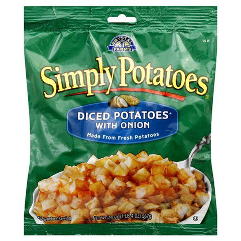 Simply Potatoes Diced Potatoes, with Onion