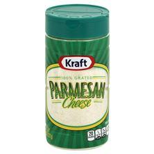 Kraft Grated Cheese, 100%, Parmesan