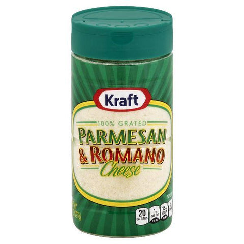Kraft Grated Cheese, Parmesan & Romano