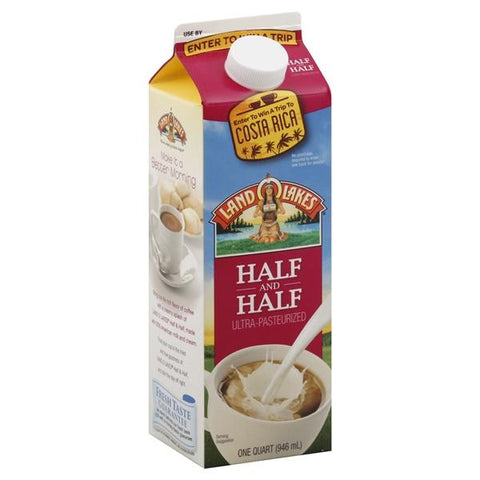 Land O Lakes Half and Half, 1 qt