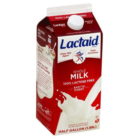 Lactaid Milk, Whole