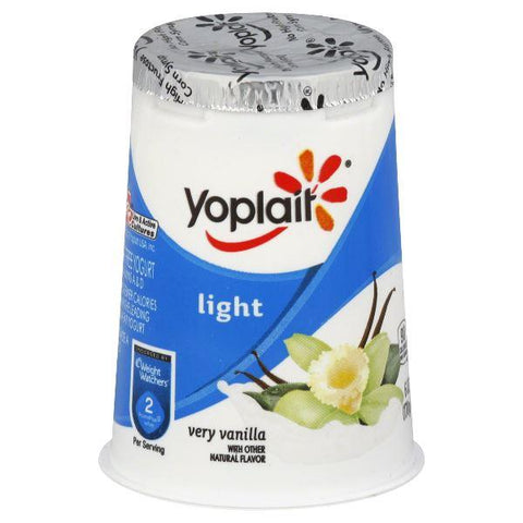 Yoplait Light Yogurt, Fat Free, Very Vanilla