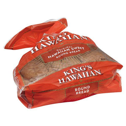 Kings Hawaiian Bread, Round, Hawaiian Sweet, Original
