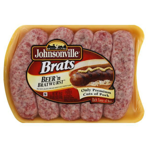 Johnsonville Brats, Beer 'n Bratwurst