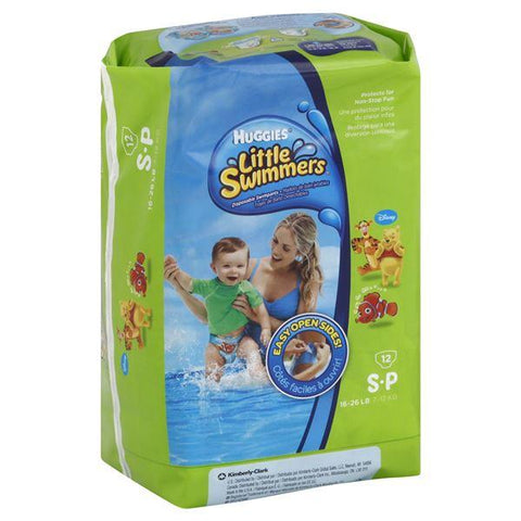 Huggies Little Swimmers Disposable Swimpants, Size S