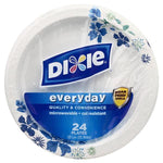 Dixie Everyday Plates, 10-1/16 Inch, 24 ct