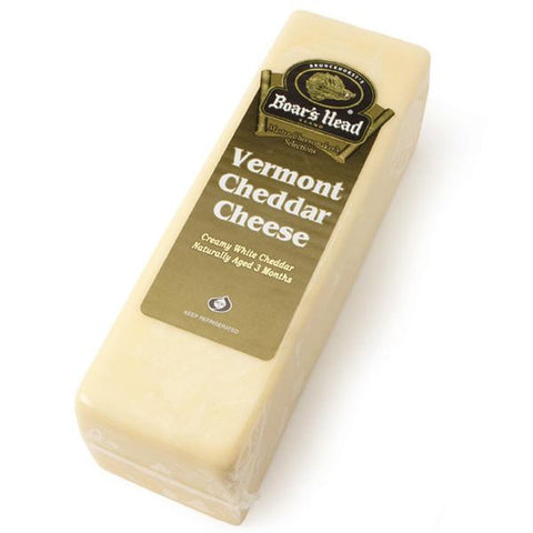 Boar's Head Vermont Cheddar Cheese, White