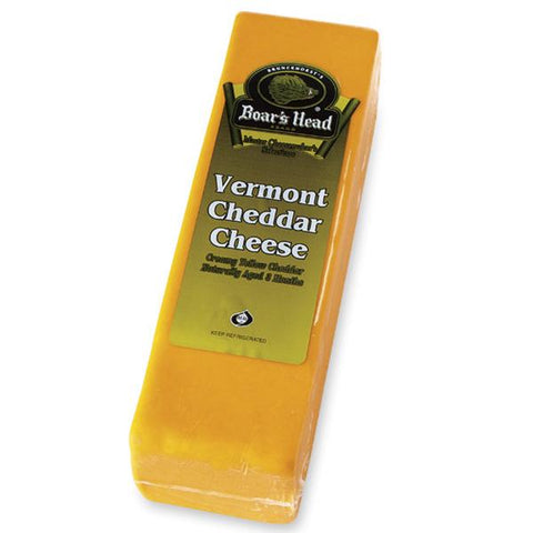Boar's Head Vermont Cheddar Cheese, Yellow