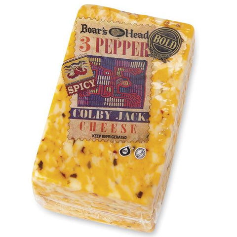 Boar's Head 3-Pepper Colby Jack ® Cheese