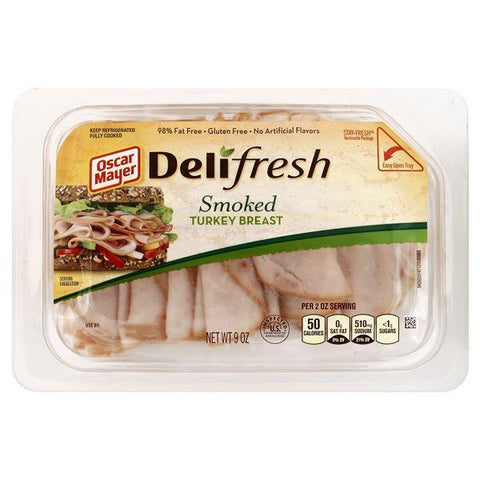 Oscar Mayer Delifresh Turkey Breast, Smoked